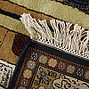 Two similar pakistani rugs, old, 180-185 x 122- 125 cm.