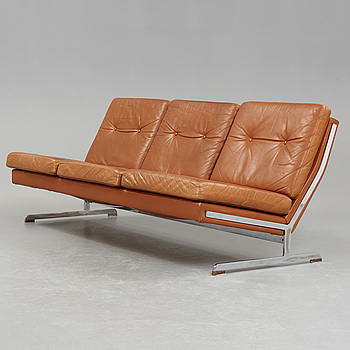 POUL NØRREKLIT, soffa, tresits, Selectform, Danmark 1960-tal.