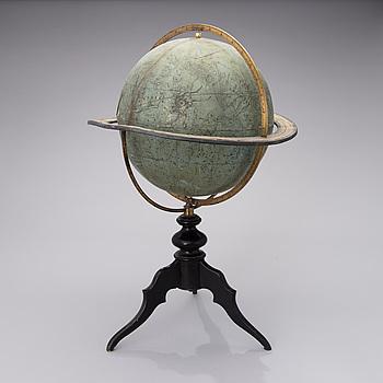 TÄHTIKARTTAPALLO, Ernst Scotte & Co, Berlin, Tyskland 1800-talets slut.