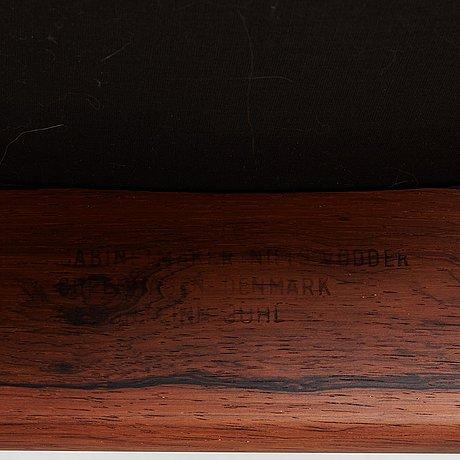 """Finn juhl, stolar, 6 st """"egyptian chairs"""", niels vodder, danmark, 1950-60-tal."""