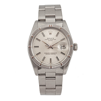 ROLEX, Oyster Perpetual, Date, Chronometer, armbandsur, 35 mm,