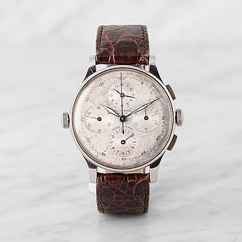 78. UNIVERSAL, Genève, Aero-Compax, chronograph, wristwatch, 37,3 mm,
