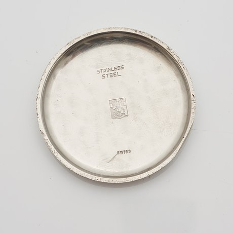 Universal, genève, aero-compax, kronograf, armbandsur, 37,3 mm,