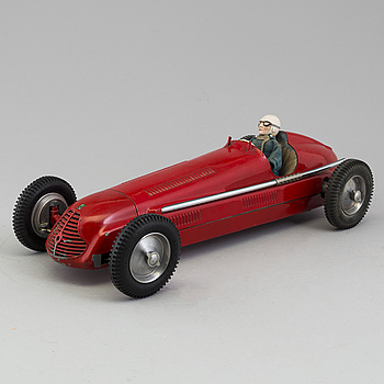 An electric powered tinplate Domo Maserati, Italy, ca 1948.