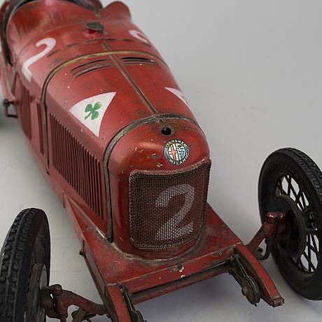 A Red Tinplate Cij Alfa Romeo P2 France Ca 1930 Bukowskis
