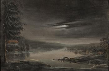 OKÄND KONSTNÄR, pastell, sekelskiftet 1700/1800.