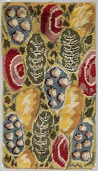 MATTA, rya, ca 195,5 x 109 cm, Sverige 1900-talets mitt.