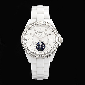 CHANEL, J12 White, wristwatch, 38 mm,
