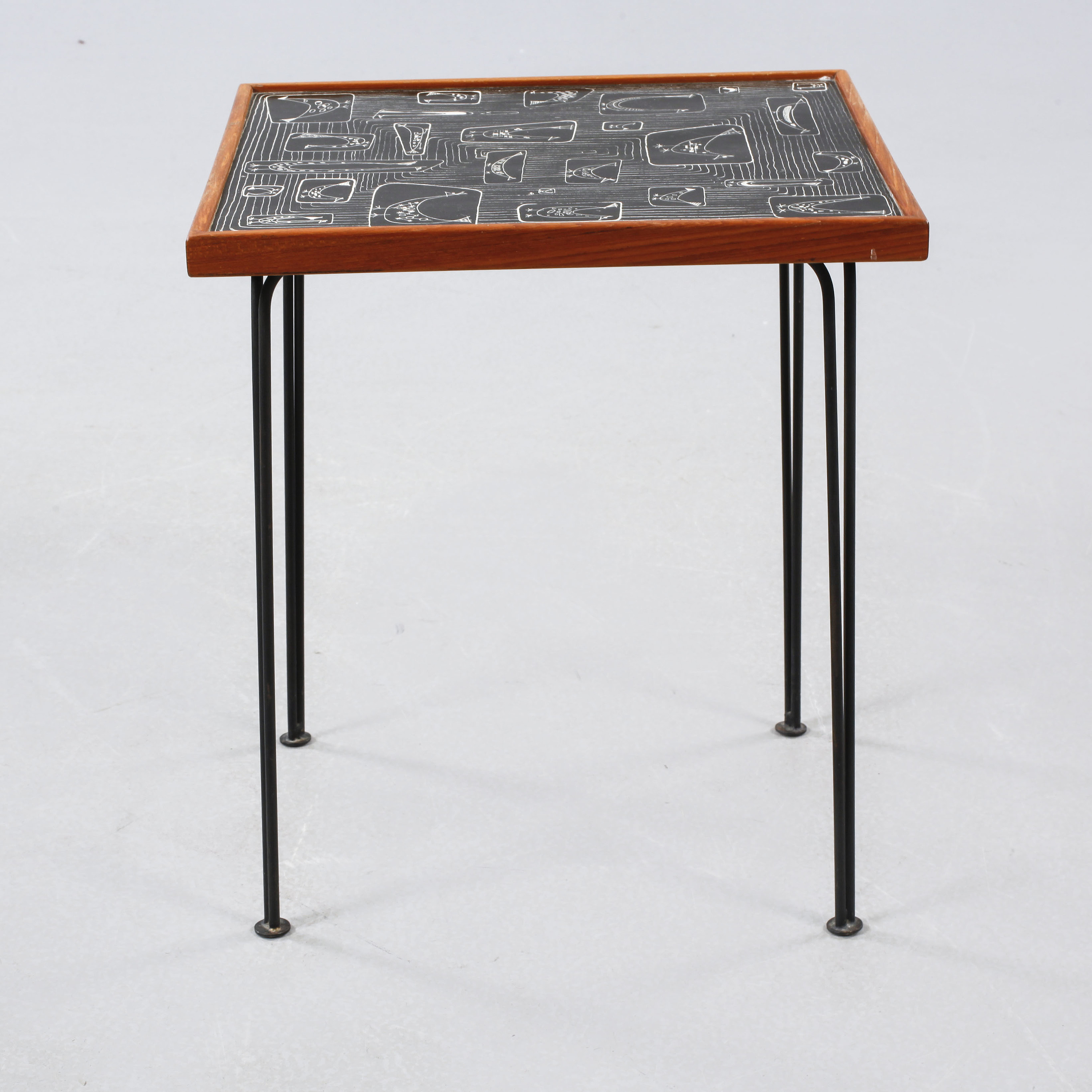 A table, model 809, desinged by Hans-Agne Jakobsson for Hans