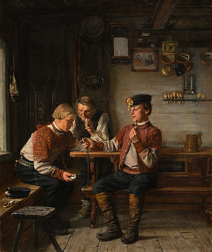 "Arvid liljelund, ""klockbyte""."