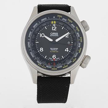 ORIS, Big Crown ProPilot Altimeter, armbandsur, 47 mm.