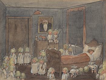 ROBERT HÖGFELDT, watercolor, signed.