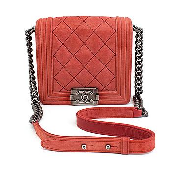 "VÄSKA, "" Boy Bag"", Chanel."