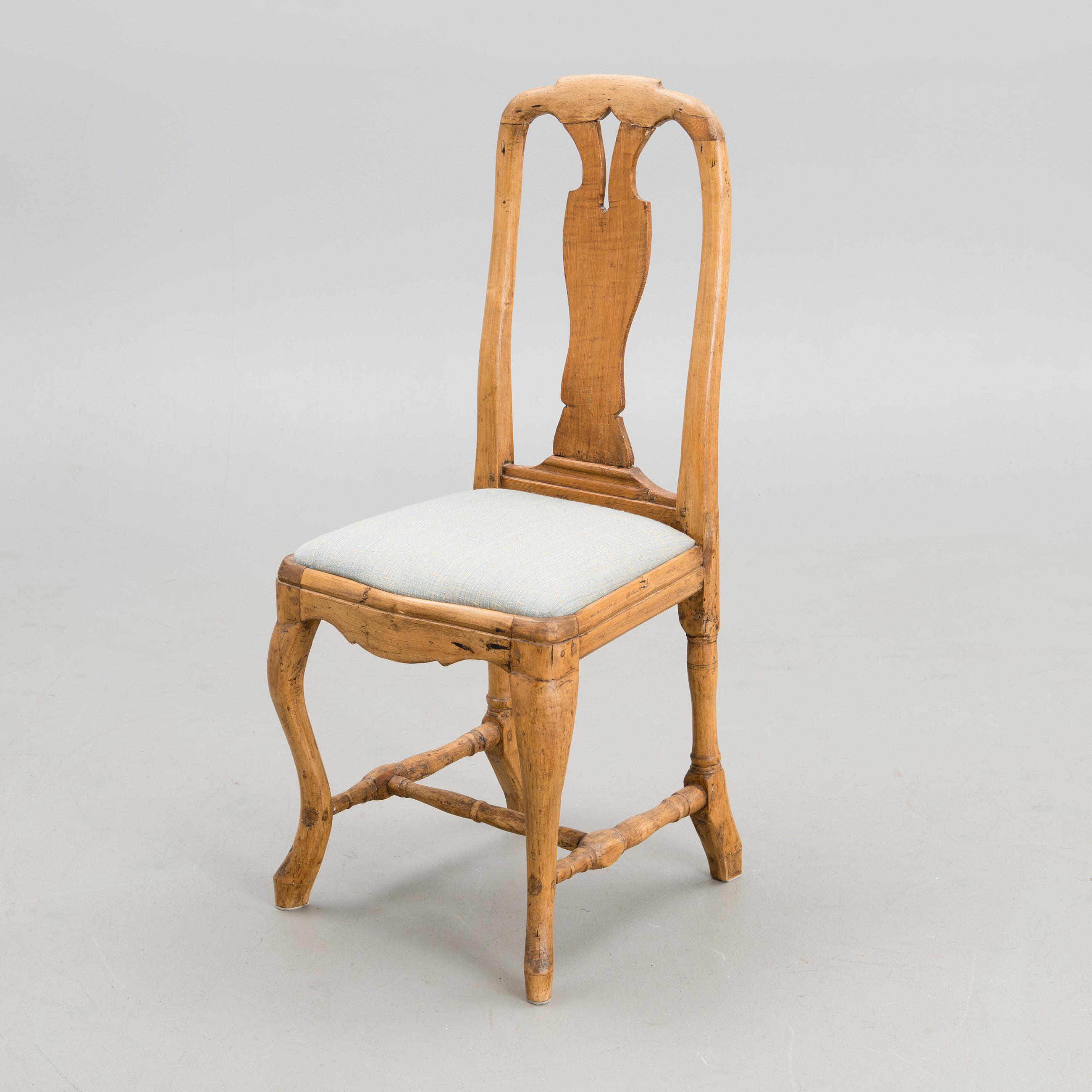 An 18th century Rococo chair Bukowskis