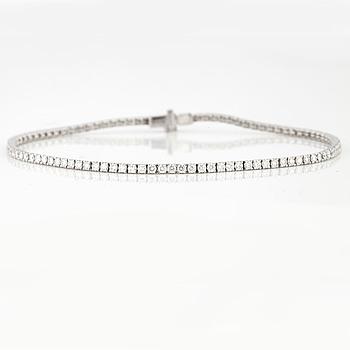 ARMBAND, med briljantslipade diamanter 1.72 ct.