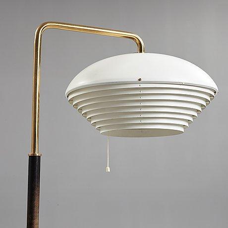 Alvar aalto, an alvar aalto 'a 811' floor lamp, valaistustyö, finland 1950 60's