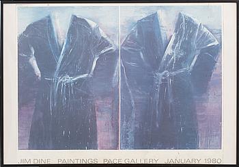 JIM DINE, efter, affischer, 2 st.