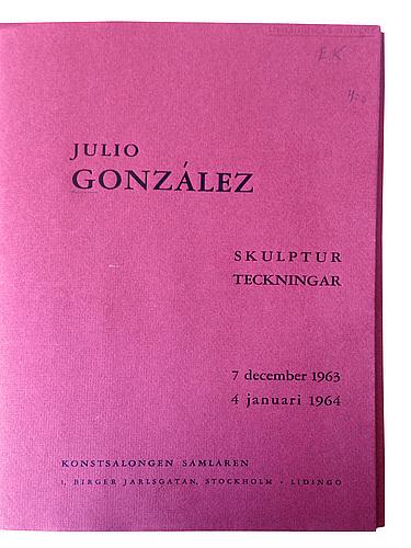 "Julio gonzález, ""tête aiguë (masque aigu)""."
