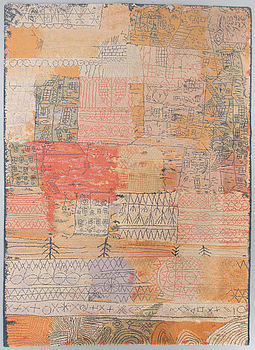 Carpet After Paul Klee Ege Art Line Denmark Late 1900 S