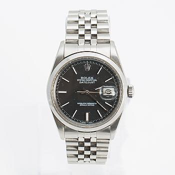 ROLEX, Oyster Perpetual datejust, armbandsur, 36 mm,
