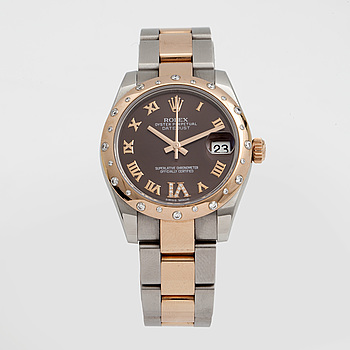 ROLEX, Oyster Perpetual, Datejust, armbandsur, 31 mm,