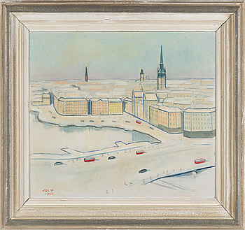 EINAR JOLIN, EINAR JOLIN, oil on canvas, signed Jolin and dated 1948.