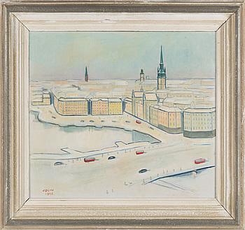 EINAR JOLIN, olja på duk, signerad Jolin och daterad 1948.