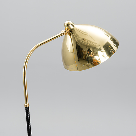 A 1940s floor light manufactured by orno.