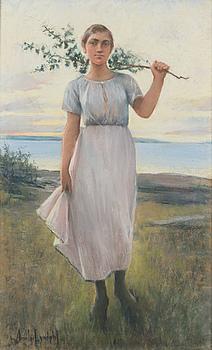 AMELIE LUNDAHL, GIRL FROM THE ARCHIPELAGO.