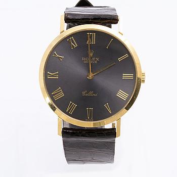ROLEX, Genève, Cellini, armbandsur, 32 mm.