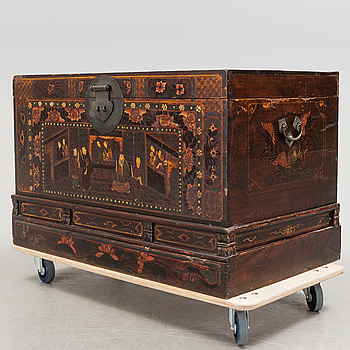 A Chinese  19th / 20th century chest.