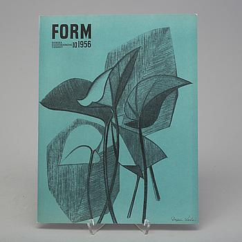 TIDSKRIFTEN FORM, 160 nummer, 1952-1969.
