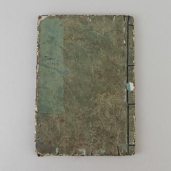 HOKUBA TESAI, bok, Japan, 1800-tal.