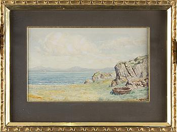 PETER MACGREGOR WILSON, RSW, akvarell, signerad.