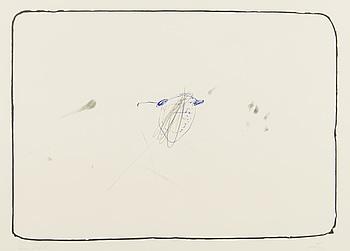 ANTONI TÀPIES, färglitografi, signerad och  märkt epreuve d'artiste.