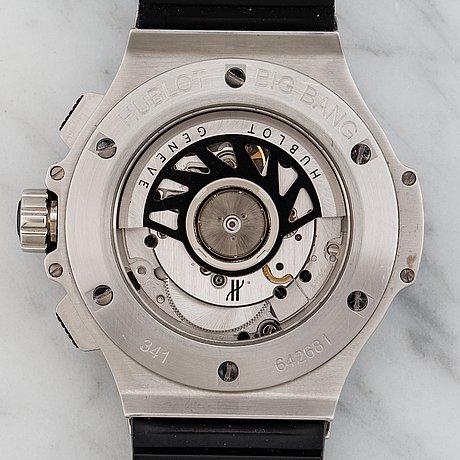 Hublot, big bang, chronograph, wristwatch, 41 mm,