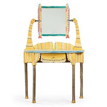 113. Gérard Rigot, A Gérard Rigot painted wood dressing table, France 1980-90's.