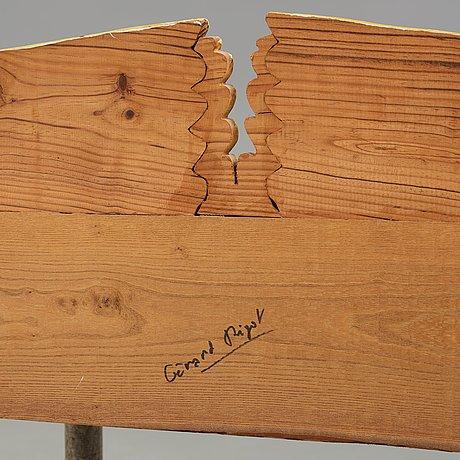 Gérard rigot, a gérard rigot painted wood dressing table, france 1980-90's.