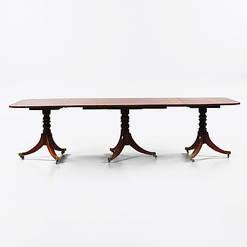 A dining table from the second half of the 20th century.