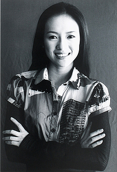 "LEIF-ERIK NYGÅRDS, fotografi, one of a kind print, ""Zhang Ziyi"" photographed in Cannes, signerad a tergo."