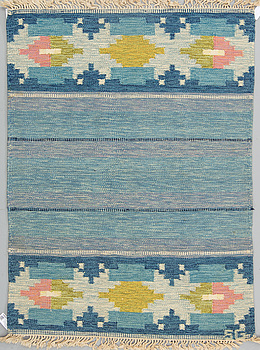 MATTA, rölakan, 192 x 142,5 cm, signerad SG, Sverige 1960-tal.
