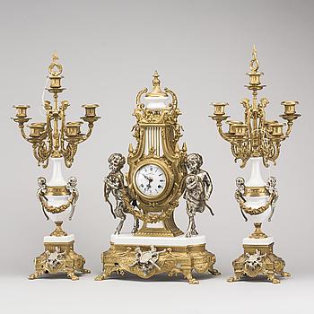 BORDSGARNITYR, 3 delar. Louis XVI-stil, Italien, 1900-talets andra hälft.