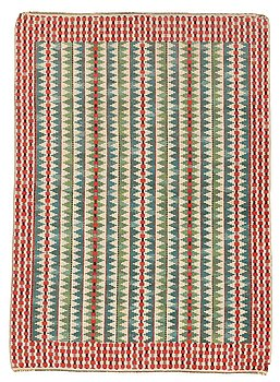 """200. Barbro Nilsson, A CARPET, """"Smultronstråna"""", knotted pile, ca 228 x 165,5 cm, signed AB MMF BN."""