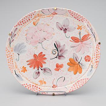 "DORRIT VON FIEANDT, FAT, keramik, ""Belladonna"", signerad DF, Pro Arte, Arabia Finland, numrerad  25/92."