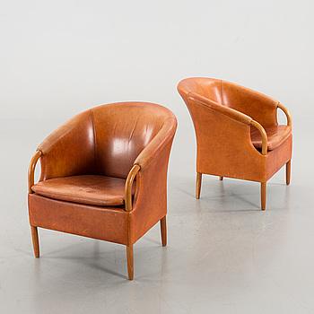 FÅTÖLJER ett par, Ebbe Gehl & Søren Nissen, Danmark, 1900-talets slut.