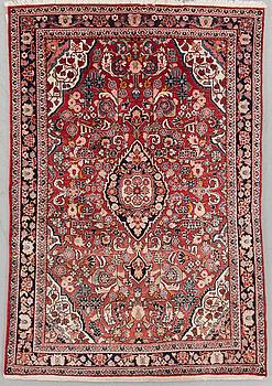MATTA, old, Sarouk, ca 198 x 125 cm.