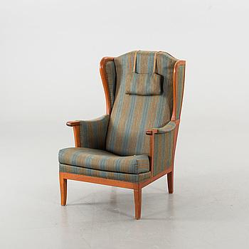 """CARL MALMSTEN, CARL MALMSTEN, a Bodafors """"Husfadern"""" easy chair."""