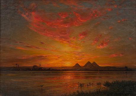 Ernst koerner, solnedgÅng Över nilen