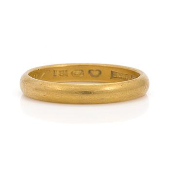 RING, 23K guld.