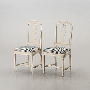 A PAIR OF CHAIRS, by IKEA,